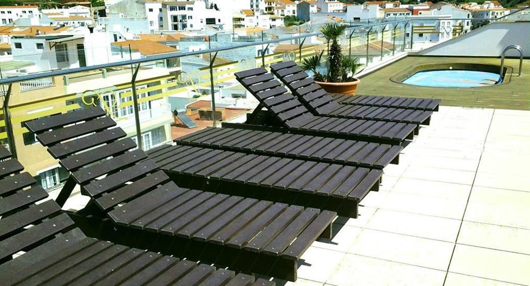 Muebles de pl stico reciclado para exterior export directe for Muebles de plastico para exterior