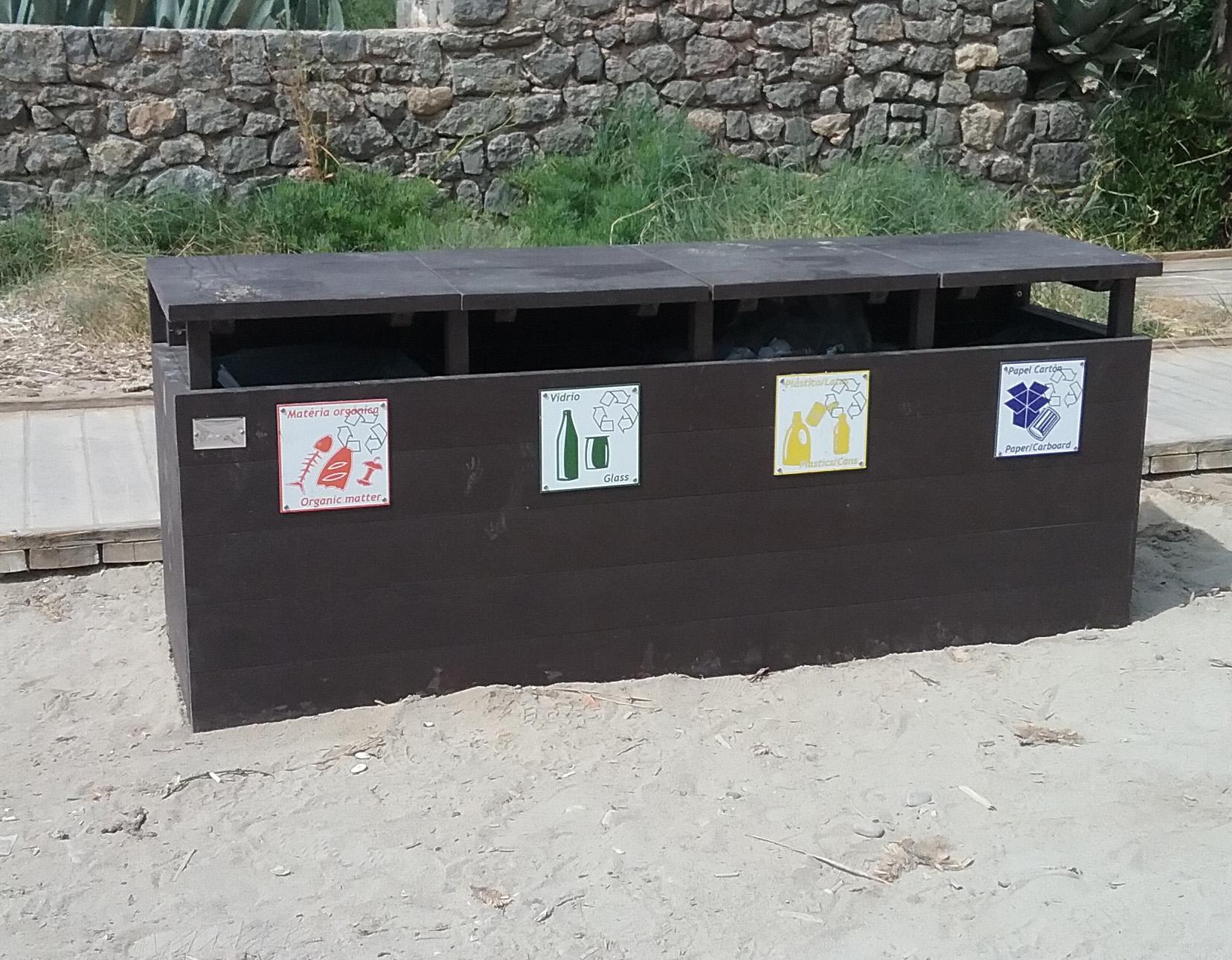 PAPERLERA de reciclaje